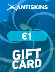 ANTISKINS | Gift Card €1