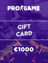 PROGAME | Gift Card €1000