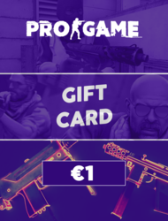 PROGAME | Gift Card €1