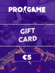 PROGAME | Gift Card €5